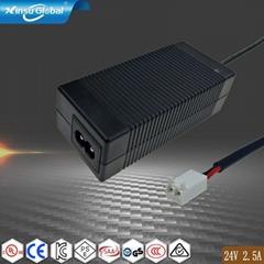 UL PSE GS认证24V2.5A开关电源适配器