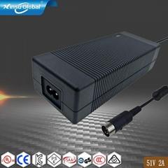 AC 电源适配器51V2A  102W安规认证电源适配器
