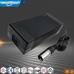 210W 70V3A開關電源適配器  UL認証開關電源