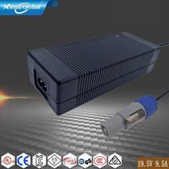19.5V9.5A 戴尔笔记本电脑适配器 CCC UL认证适配器