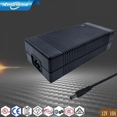 12V10A電源適配器 大電流12V電源適配器10A
