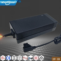 18V10A電源適配器 18V大電流開關電源適配器