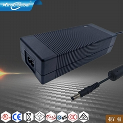 IEC62368 ac dc 48V 4A power adapter