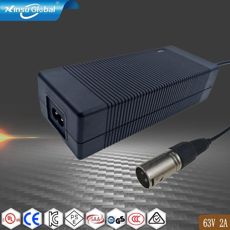 UL PSE GS認証63V2A鋰電池充電器 15串鋰電池組充電器 1