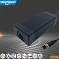 SAA RCM C-Tick認証 25.2V4A電池充電器 1