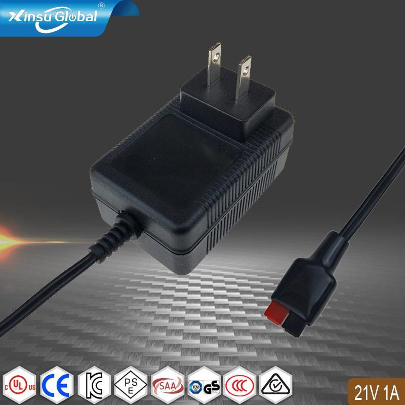 UL认证21V1A电池充电器 美规电池充电器 1