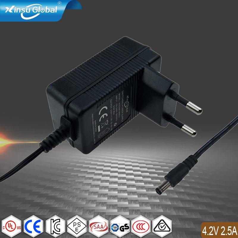 EN6.335-2-29欧洲标准认证 4.2V2.5A锂离子电池充电器 1