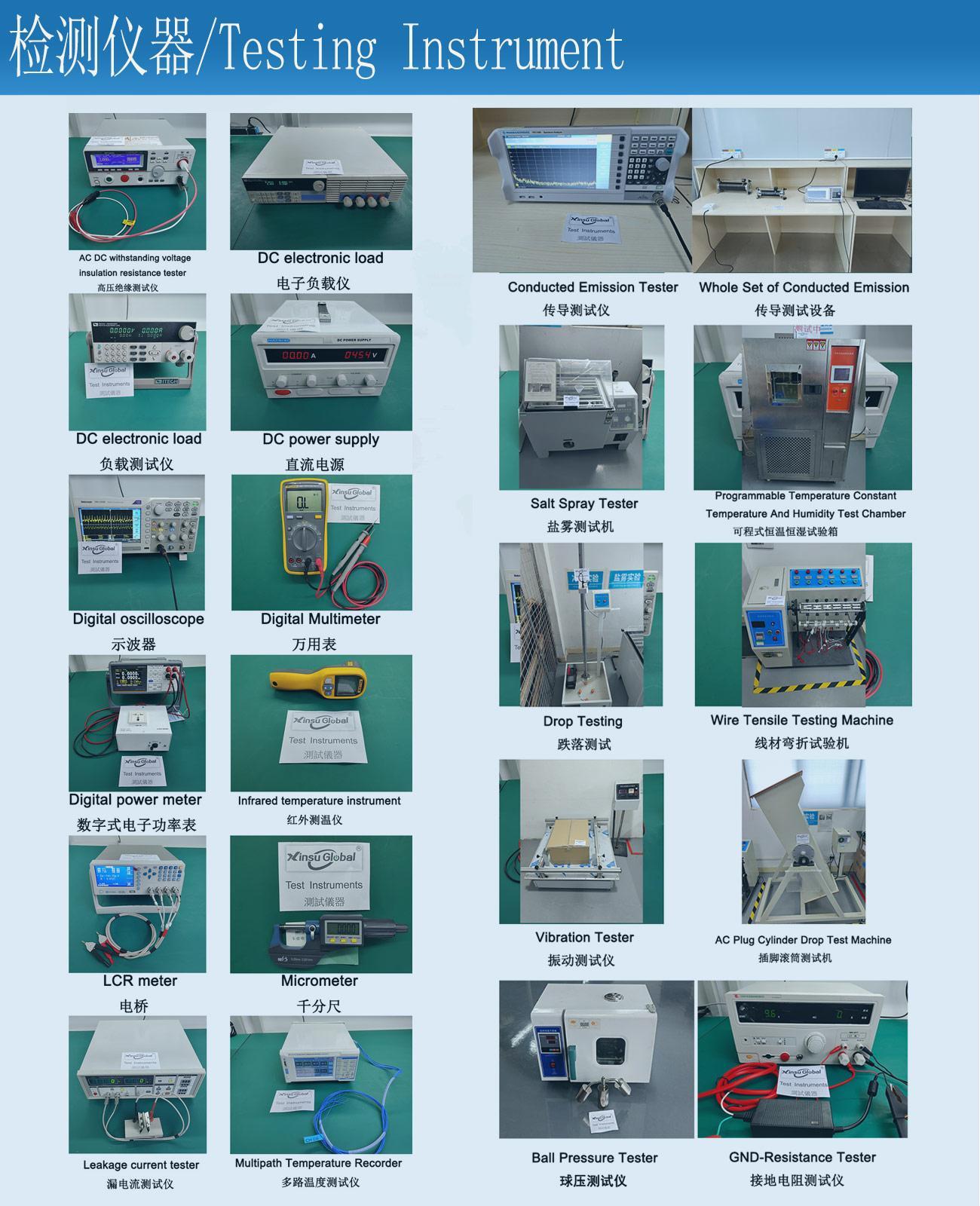 EN60335-2-29欧洲标准认证4.2V2A锂电池充电器 7