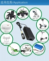 42V2A锂电池充电器 可折叠电动自行车充电器 11