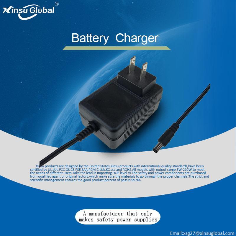 4.2V1A锂电池充电器 儿童教育机器人充电器 4