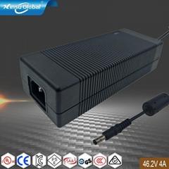 46.2V4A锂电池充电器 UL CE PSE GS认证充电器