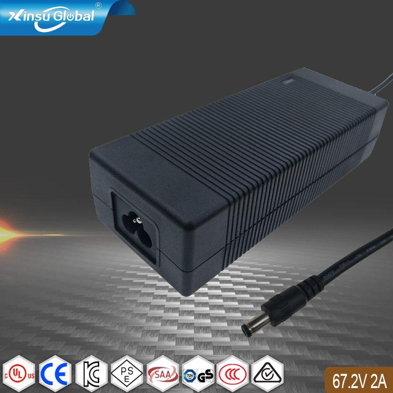 67.2V2A锂电池充电器 135W电池充电器 1