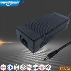 67.2V2A锂电池充电器 135W电池充电器