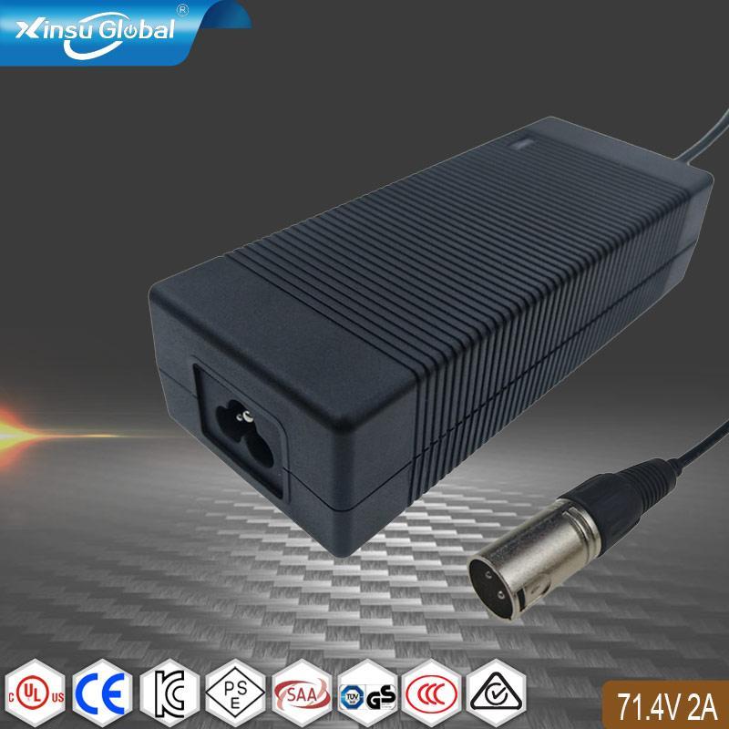 71.4V2A锂电池充电器  17串锂电池组充电器 1