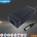 71.4V2A锂电池充电器