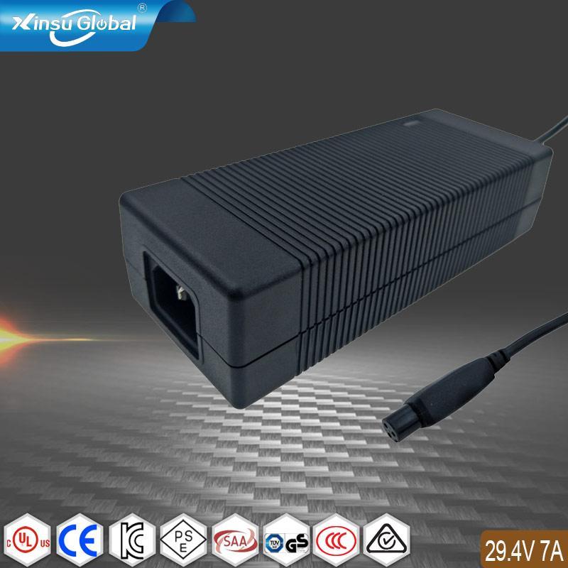 29.4V7A锂电池充电器 210W大功率锂电池充电器 1