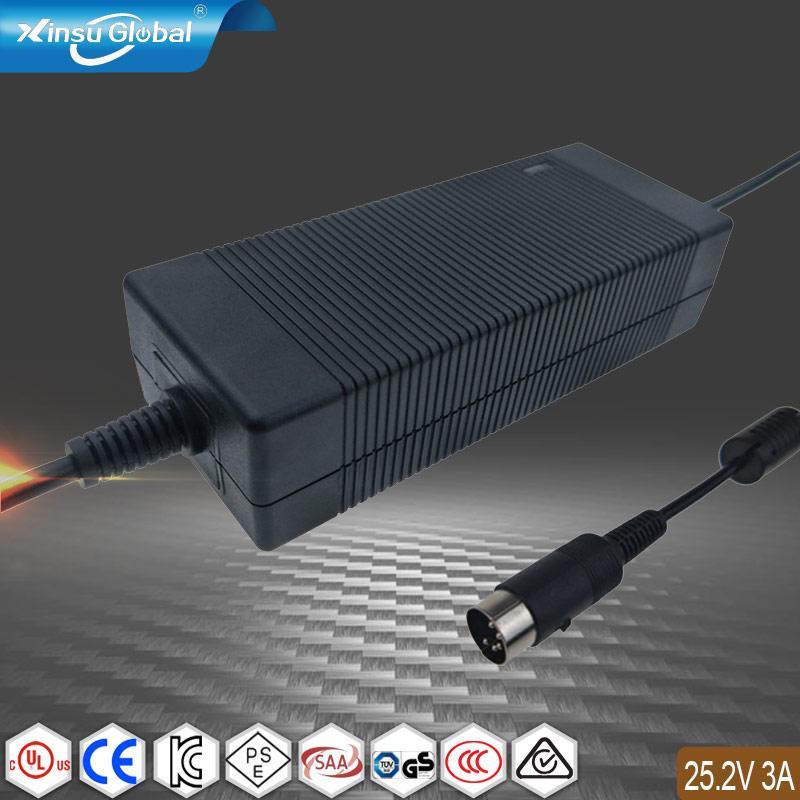 6串電池22.2V鋰電池 電動助推游泳神器動力浮板25.2V3A充電器 1