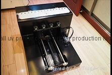 A4 Uv plastic flatbed printer