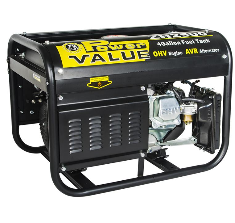 2kw Single Phase Gasoline Generator Price in India - ZH2500 (China