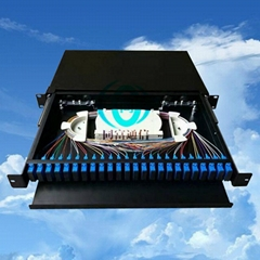 24 core optical fiber terminal box 1U frame