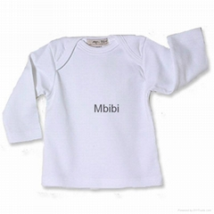 Mbibi Organic Cotton Long Sleeve Baby bodysuits