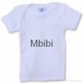 Mbibi Organic Cotton Baby short sleeve t-shirts