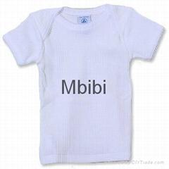 嬰儿插肩短袖T卹
