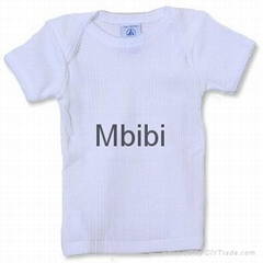 Mbibi Organic Cotton Baby short sleeve t-shirts