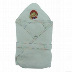 Mbibi Organic Cotton Baby Blanket