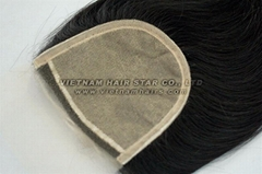 Vietnamese Hair Closure Golden Perfect Silk Base Closure