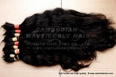 Cambodian Natural Hair