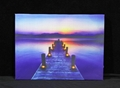 led wooden wall plaques multicolored