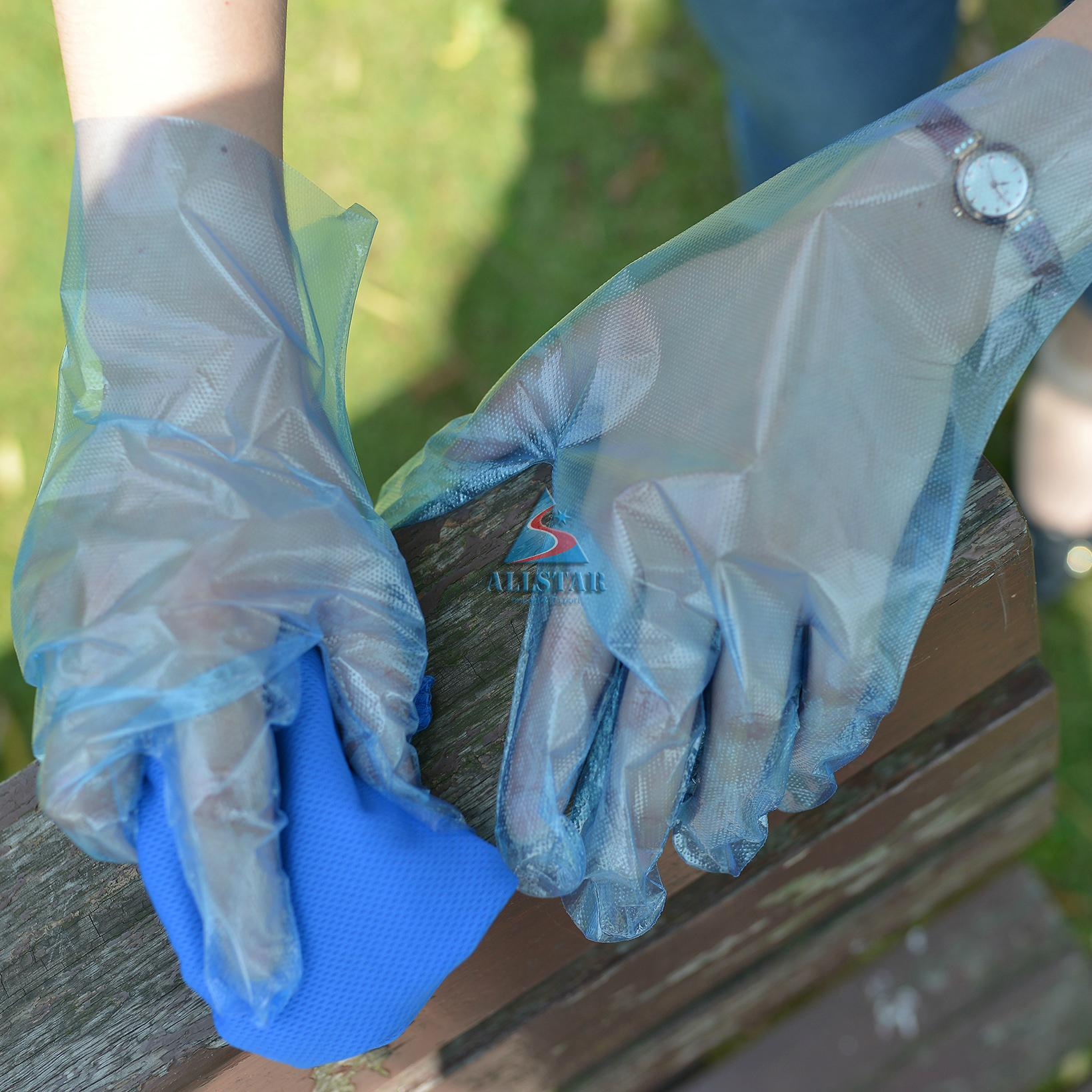 LDPE disposable Gloves 5