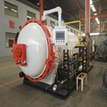 Industrial pressure vessel 1.0mpa automatic door operating composite autoclave 5