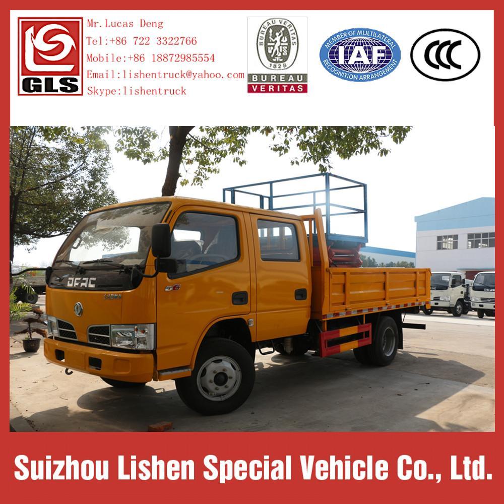 DFAC High Altitude Operation Truck Platform Lifting 4