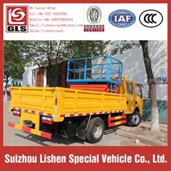 DFAC High Altitude Operation Truck Platform Lifting