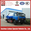 Dongfeng Vacuum Sewage Fecal Suction Truck 5