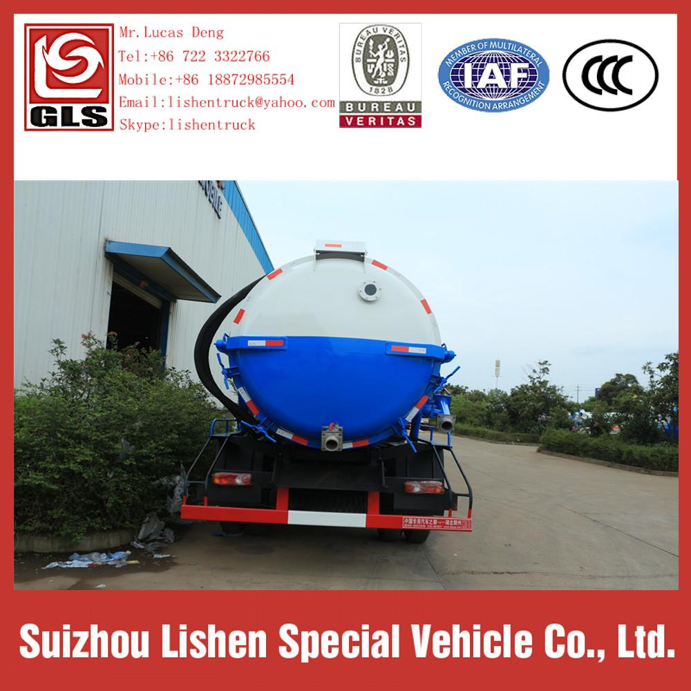 Dongfeng Vacuum Sewage Fecal Suction Truck 2