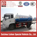 10000L Vacuum Sewage Suction Truck Dongfeng 5