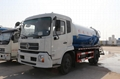 10000L Vacuum Sewage Suction Truck Dongfeng 4