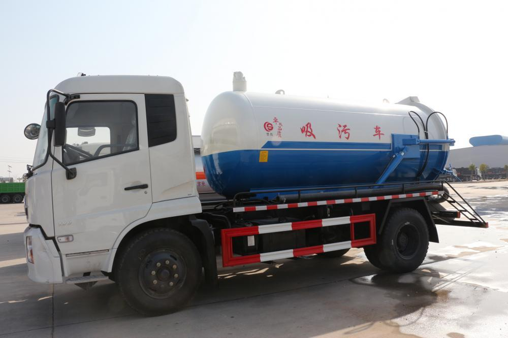 10000L Vacuum Sewage Suction Truck Dongfeng 3