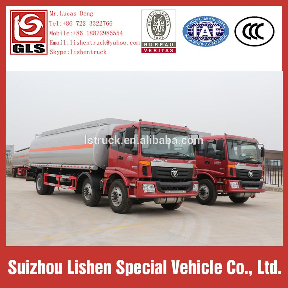 Auman Fuel Carbon Steel Oil Tanker Truck 6