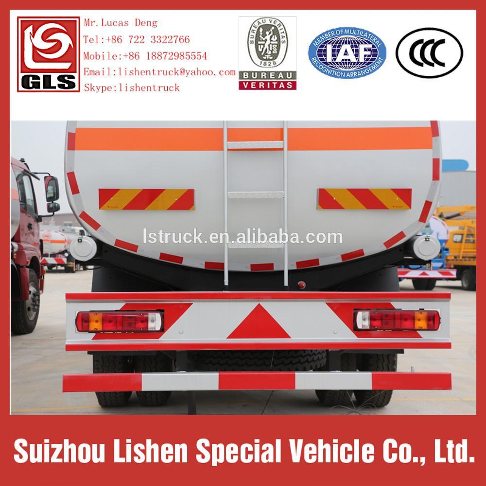 Auman Fuel Carbon Steel Oil Tanker Truck 3