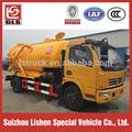 4X2 Vacuum Sewage Suction Truck 6000L