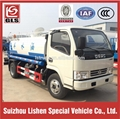 Dongfeng water tank truck 4ton 4