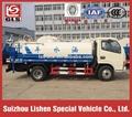 Dongfeng water tank truck 4ton 3