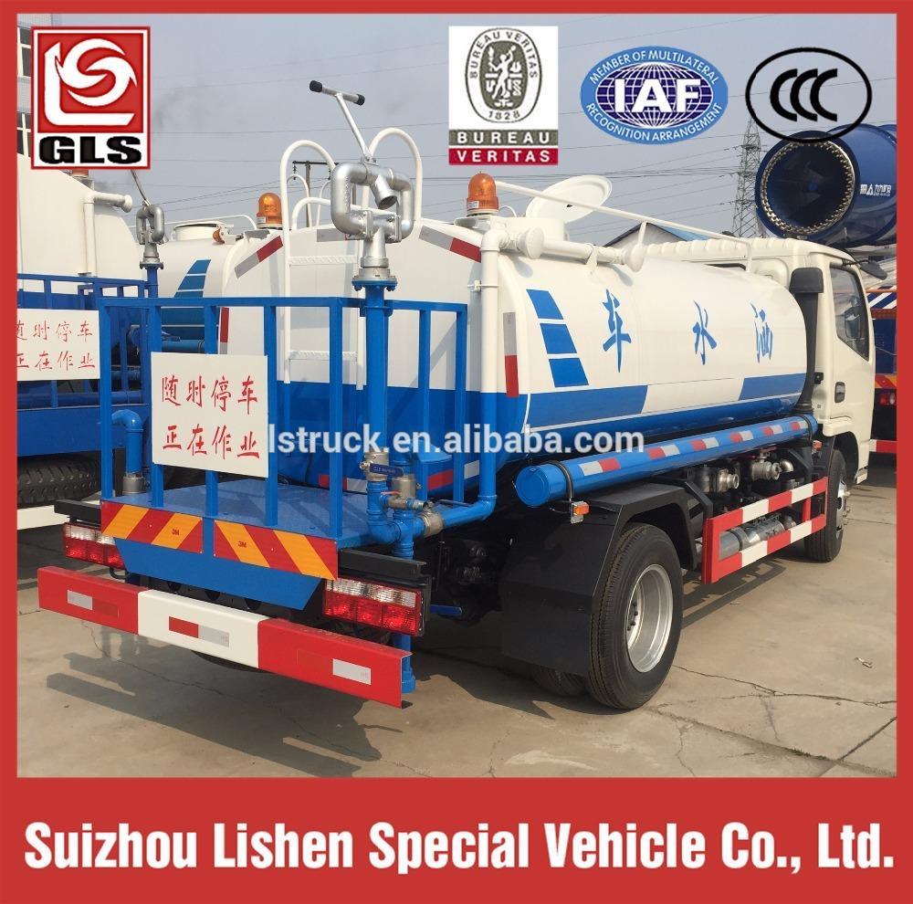 Dongfeng water tank truck 4ton 2