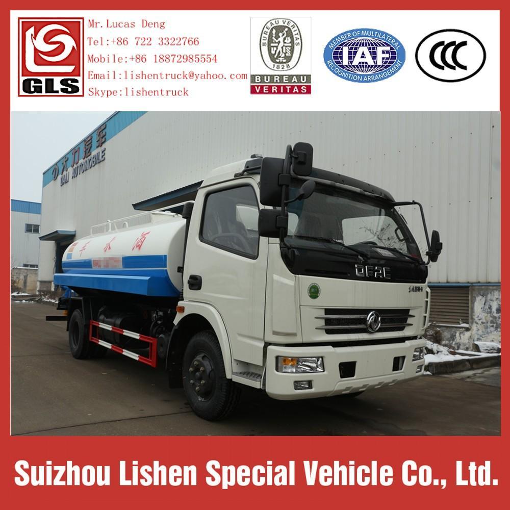 7 m3 Water Tanker Trucks Stainless Steel Europe 3 3