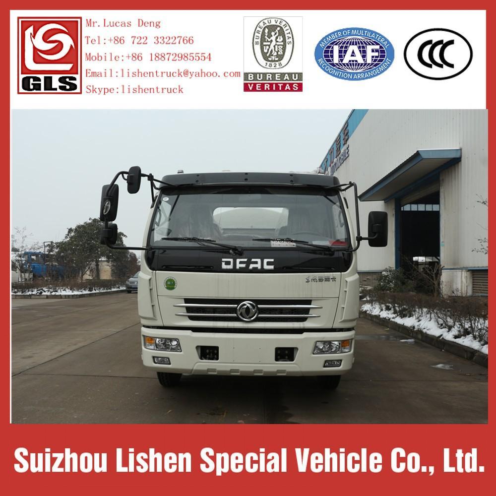 7 m3 Water Tanker Trucks Stainless Steel Europe 3 2