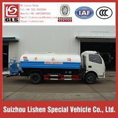 7 m3 Water Tanker Trucks Stainless Steel Europe 3
